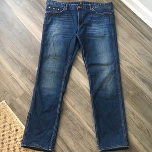 Boss Hugo Boss Stretch Straight Jeans Size 38 X 32